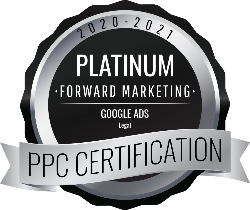 FORWARD Marketing Google PPC certification